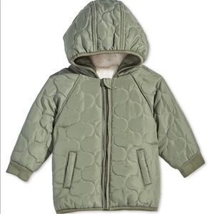 First impression baby boys hooded puffer jacket
